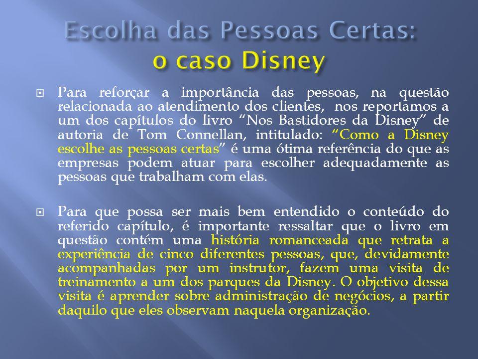 Escolha das Pessoas Certas: o caso Disney