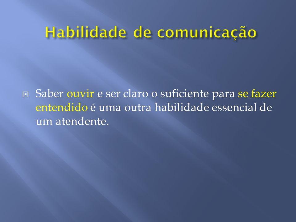 Habilidade de comunicação