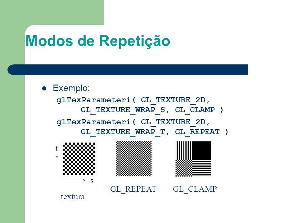 Modos de Repetição Exemplo: