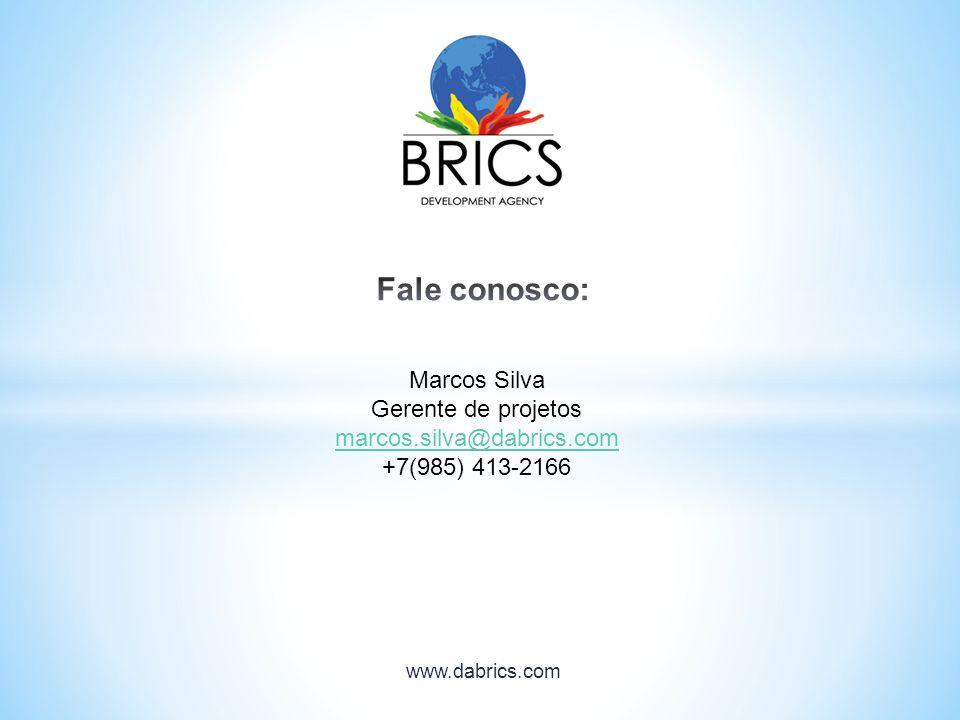 Fale conosco: Marcos Silva Gerente de projetos