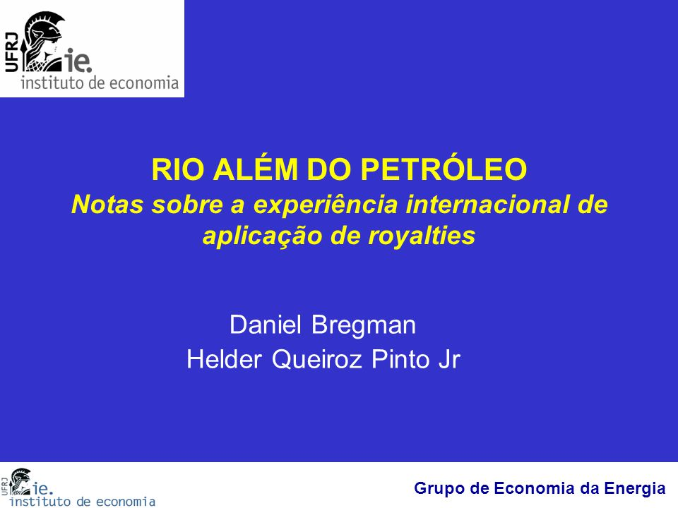 Daniel Bregman Helder Queiroz Pinto Jr