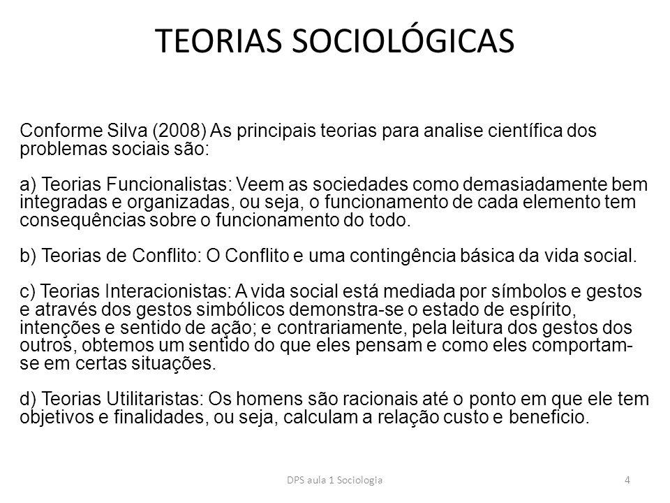TEORIAS SOCIOLÓGICAS