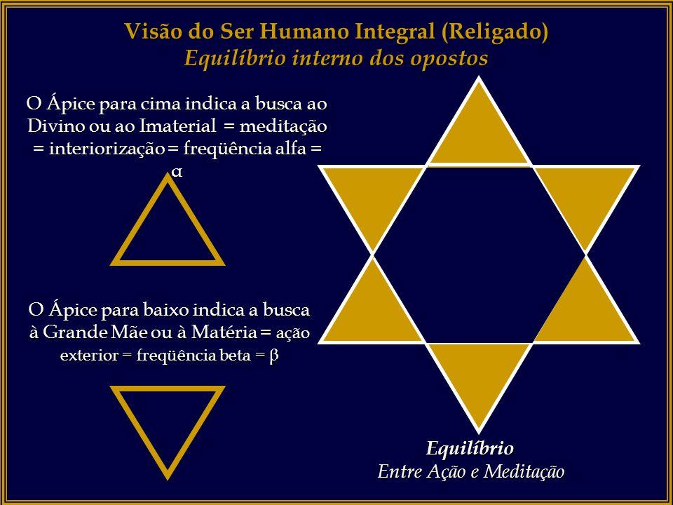Visão do Ser Humano Integral (Religado) Equilíbrio interno dos opostos