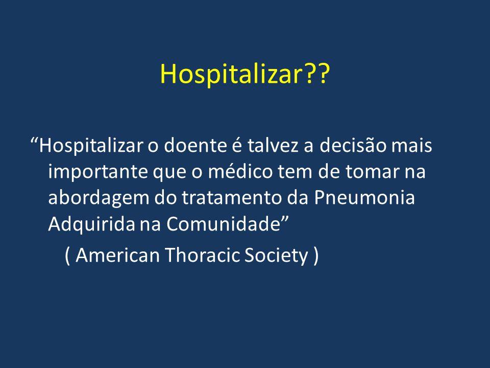 Hospitalizar
