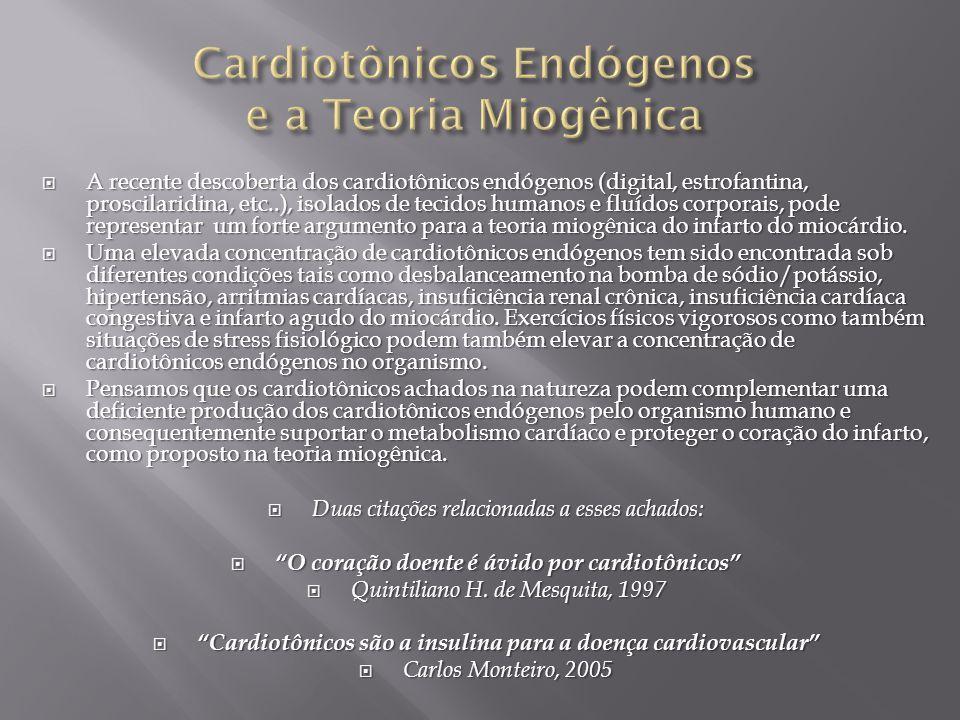Cardiotônicos Endógenos e a Teoria Miogênica