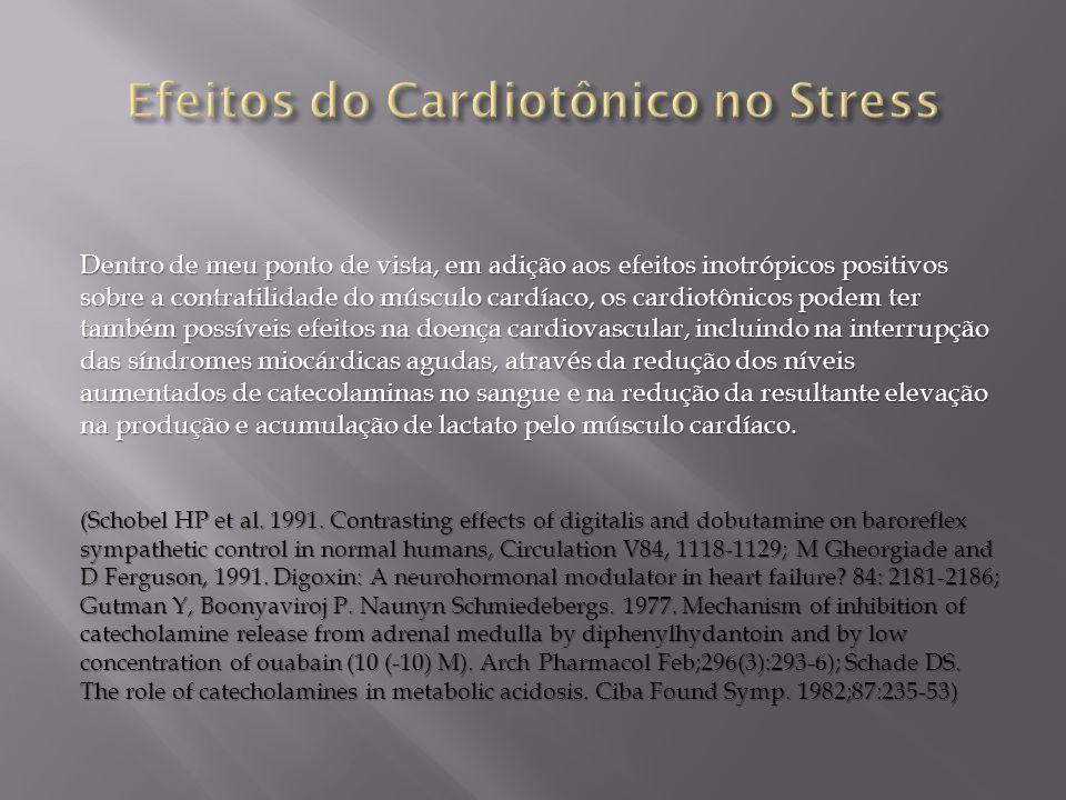 Efeitos do Cardiotônico no Stress