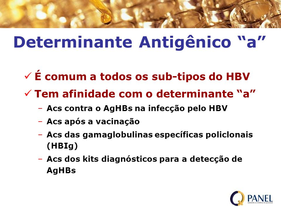 Determinante Antigênico a