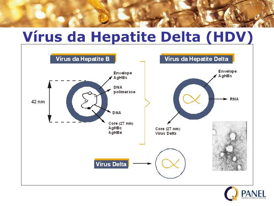 Vírus da Hepatite Delta (HDV)