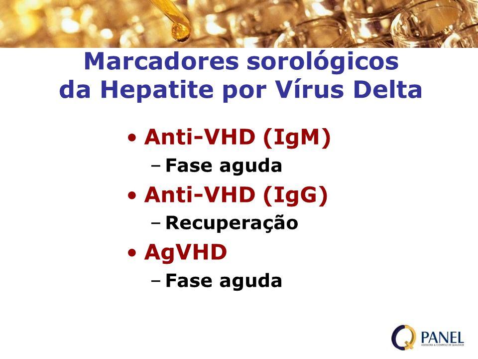 Marcadores sorológicos da Hepatite por Vírus Delta
