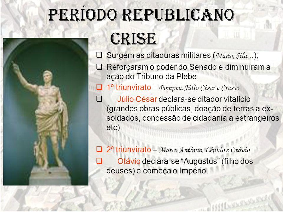 Período Republicano CRISE