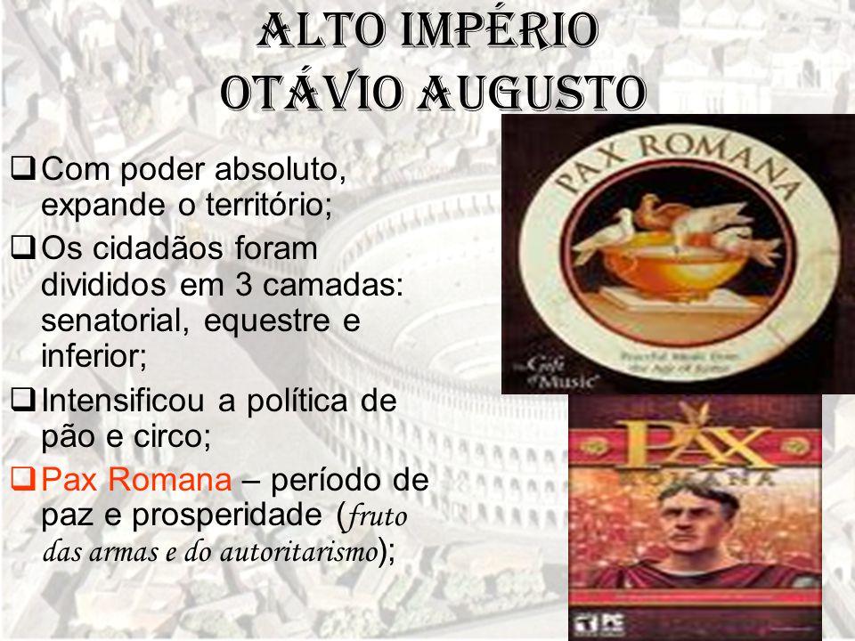 Alto Império Otávio Augusto