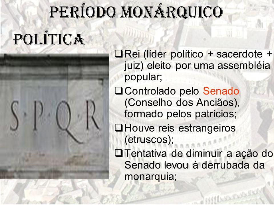 Período Monárquico POLÍTICA