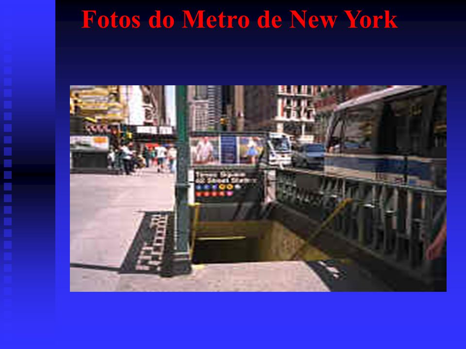 Fotos do Metro de New York