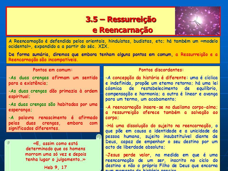 3.5 – Ressurreição e Reencarnação