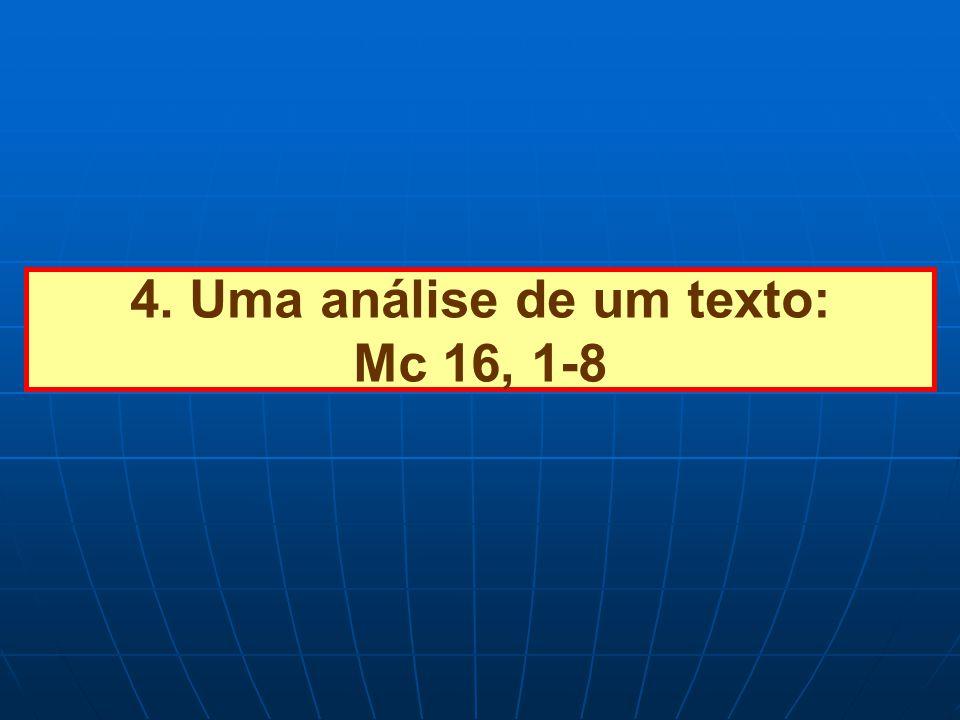 4. Uma análise de um texto: