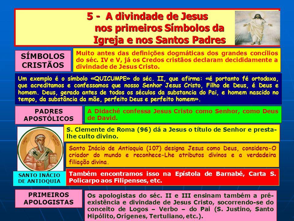 SANTO INÁCIO DE ANTIOQUIA PRIMEIROS APOLOGISTAS