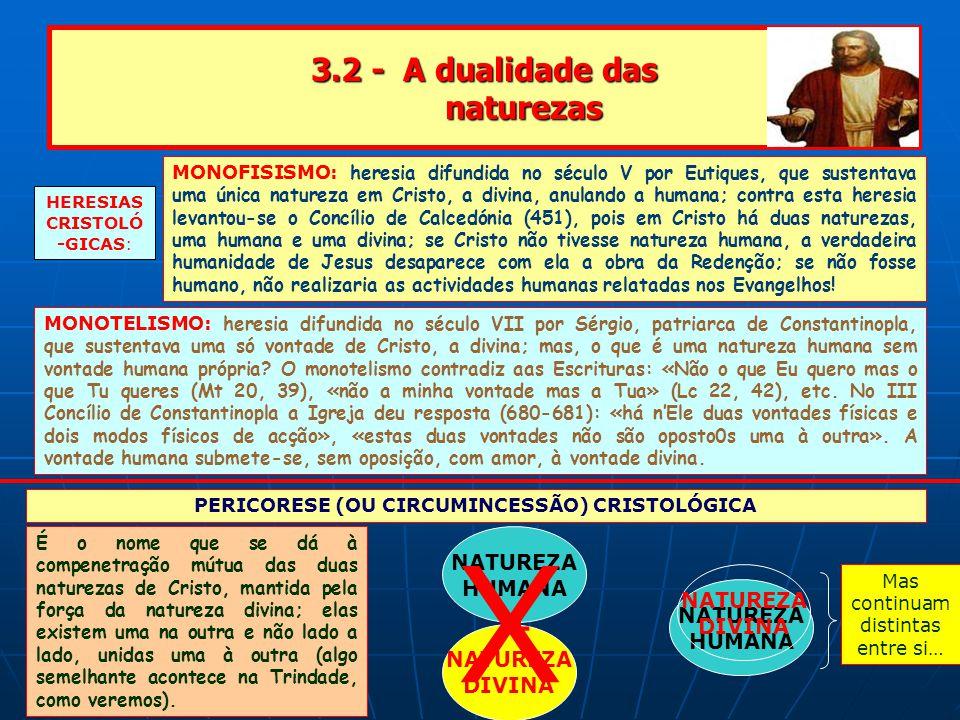 3.2 - A dualidade das naturezas