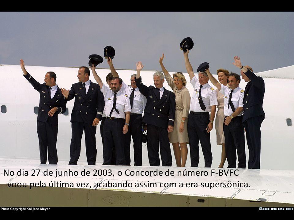 No dia 27 de junho de 2003, o Concorde de número F-BVFC