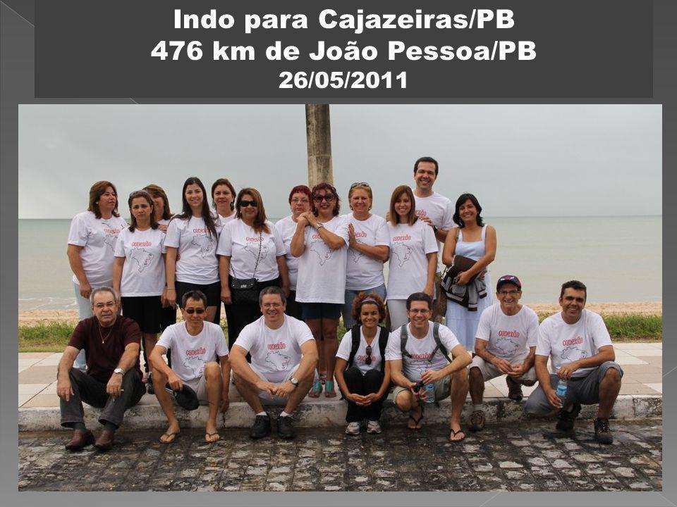 Indo para Cajazeiras/PB