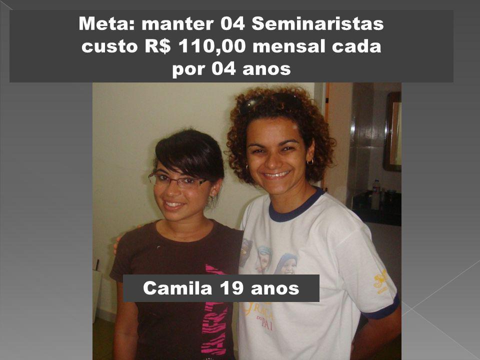 Meta: manter 04 Seminaristas