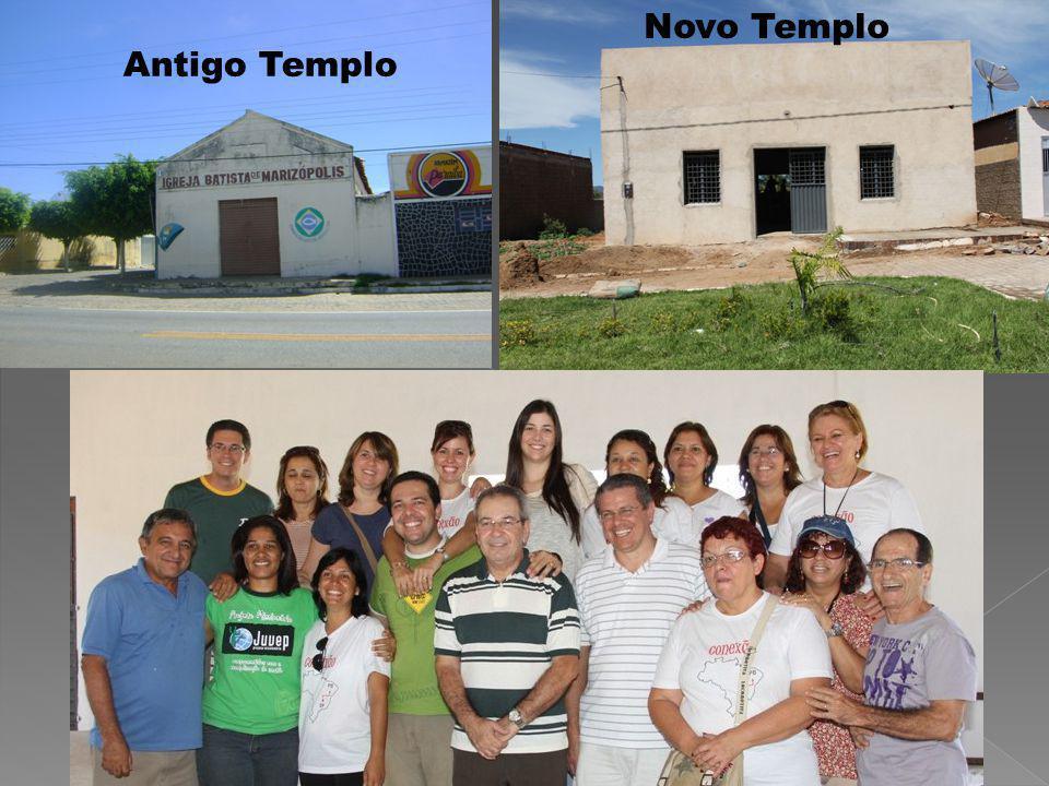 Novo Templo Antigo Templo