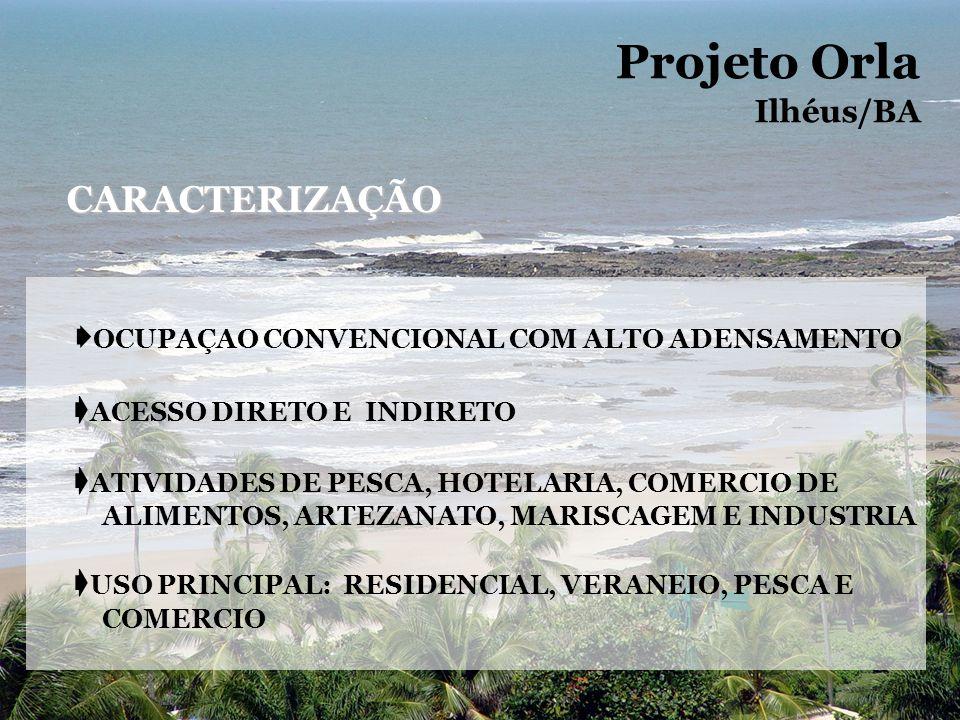 Projeto Orla CARACTERIZAÇÃO Ilhéus/BA