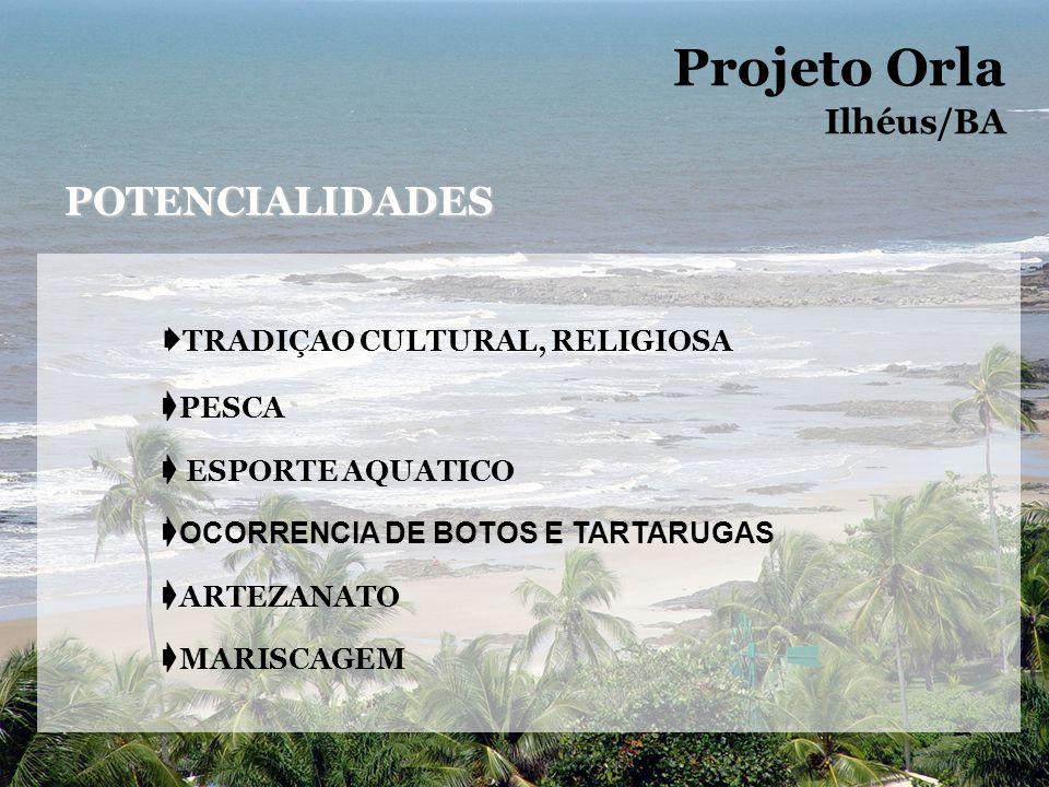 Projeto Orla POTENCIALIDADES Ilhéus/BA ➧TRADIÇAO CULTURAL, RELIGIOSA
