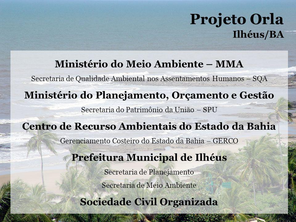 Projeto Orla Ilhéus/BA Ministério do Meio Ambiente – MMA