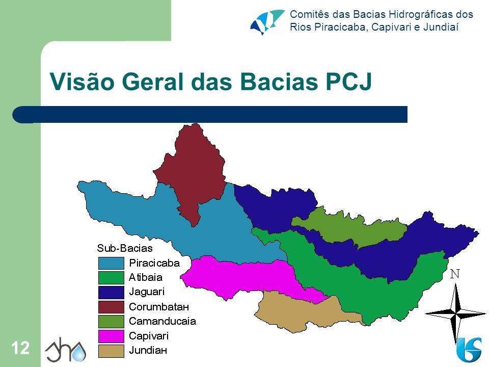 Visão Geral das Bacias PCJ