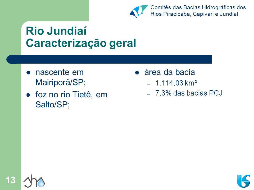 Rio Jundiaí Caracterização geral