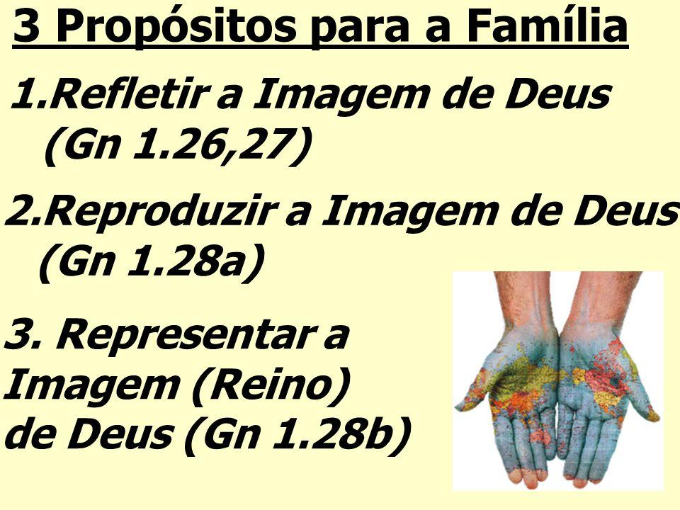 3 Propósitos para a Família