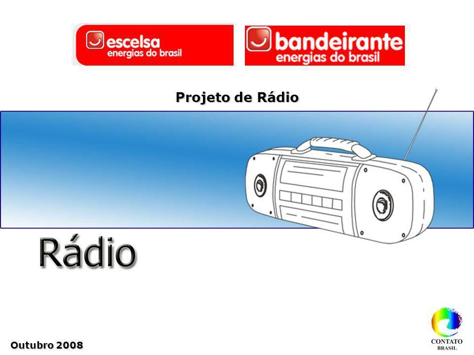 Projeto de Rádio Outubro 2008