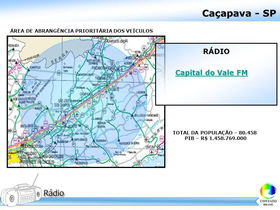 Caçapava - SP RÁDIO Capital do Vale FM