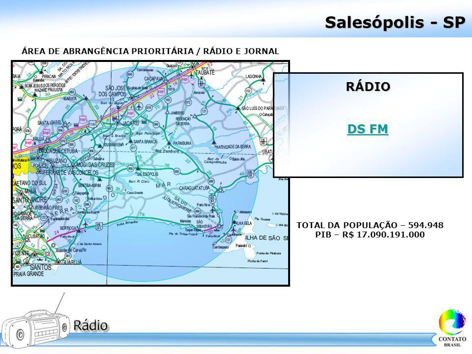 Salesópolis - SP RÁDIO DS FM