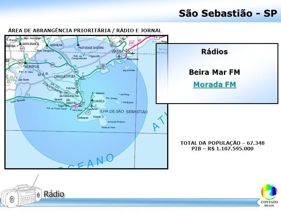 São Sebastião - SP Rádios Beira Mar FM Morada FM