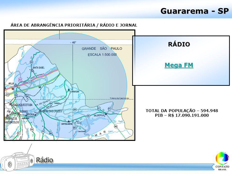 Guararema - SP RÁDIO Mega FM