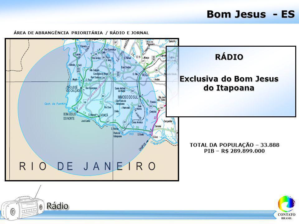 Bom Jesus - ES RÁDIO Exclusiva do Bom Jesus do Itapoana