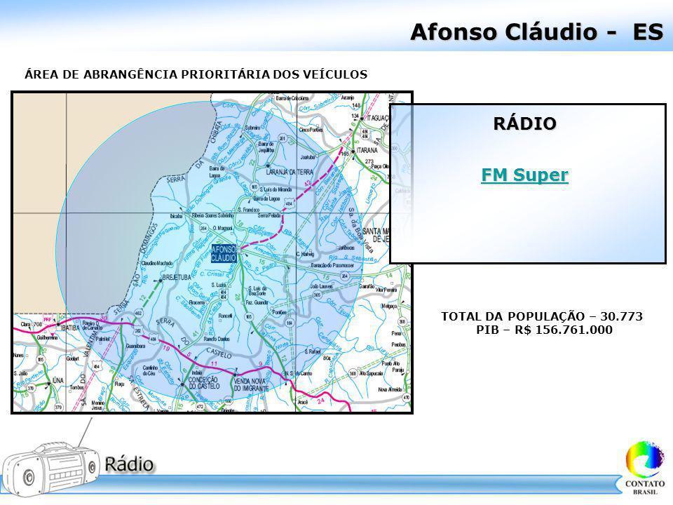 Afonso Cláudio - ES RÁDIO FM Super