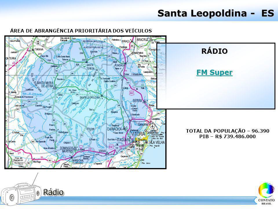 Santa Leopoldina - ES RÁDIO FM Super