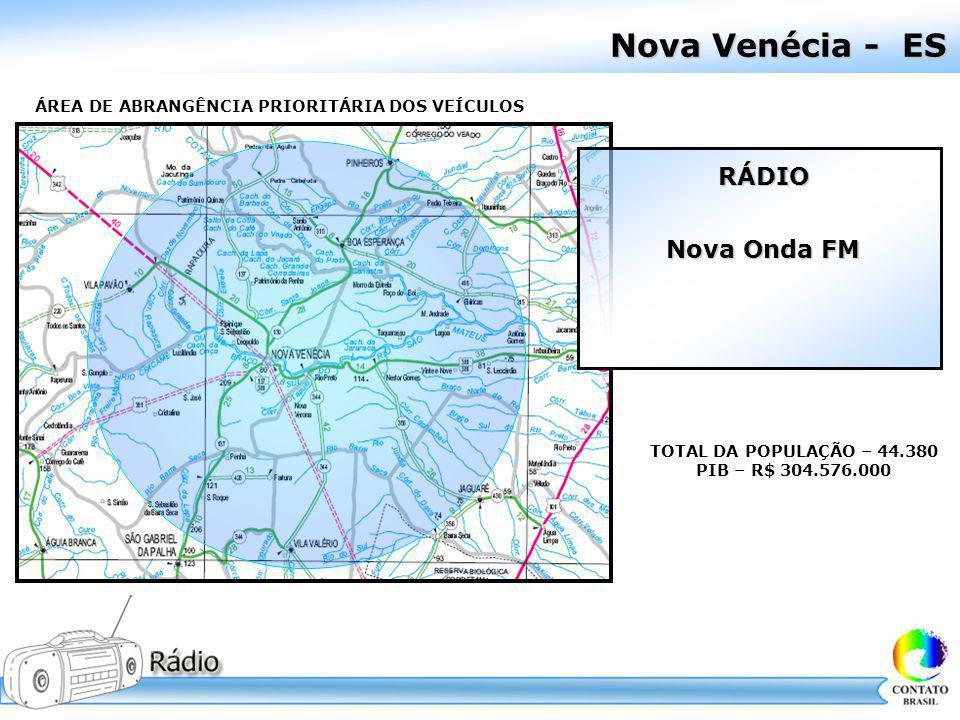 Nova Venécia - ES RÁDIO Nova Onda FM