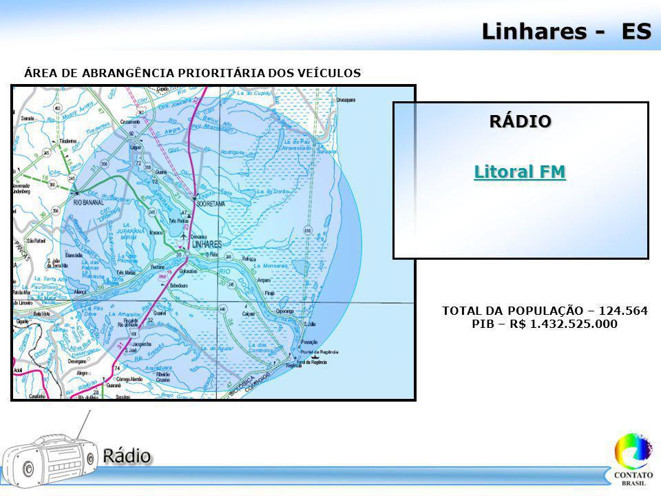 Linhares - ES RÁDIO Litoral FM