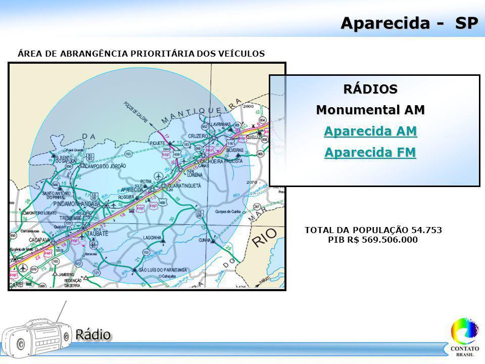 Aparecida - SP RÁDIOS Monumental AM Aparecida AM Aparecida FM