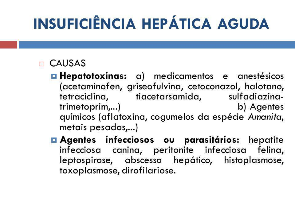 INSUFICIÊNCIA HEPÁTICA AGUDA