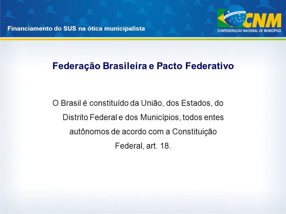 Federação Brasileira e Pacto Federativo