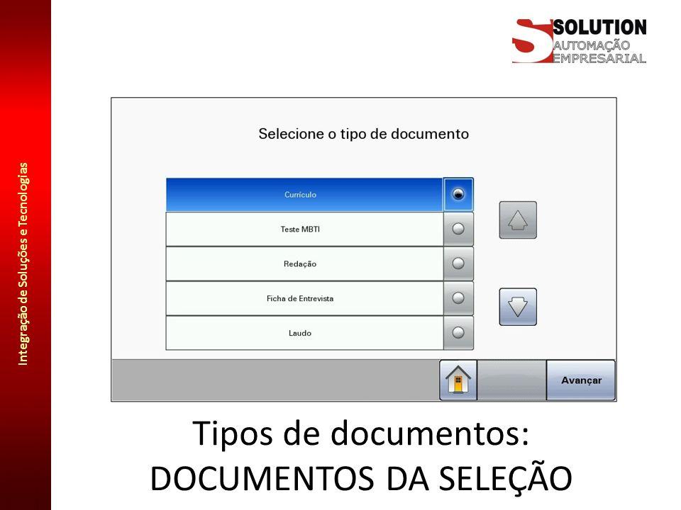 Tipos de documentos: DOCUMENTOS DA SELEÇÃO
