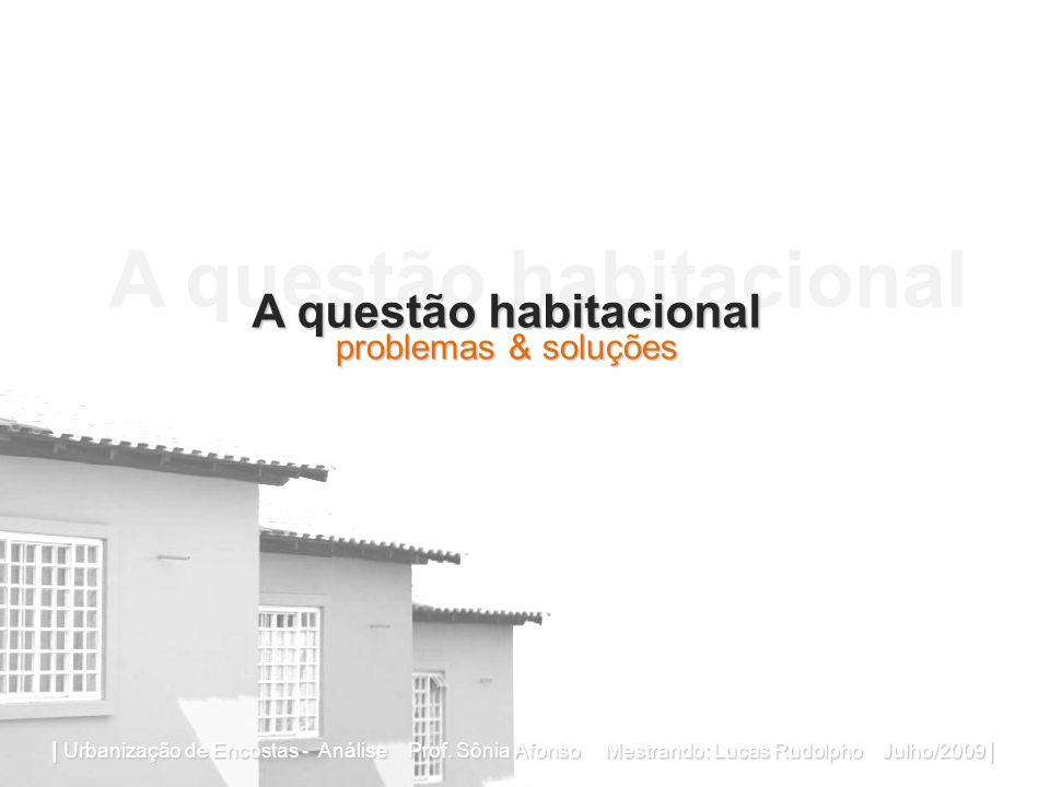 A questão habitacional