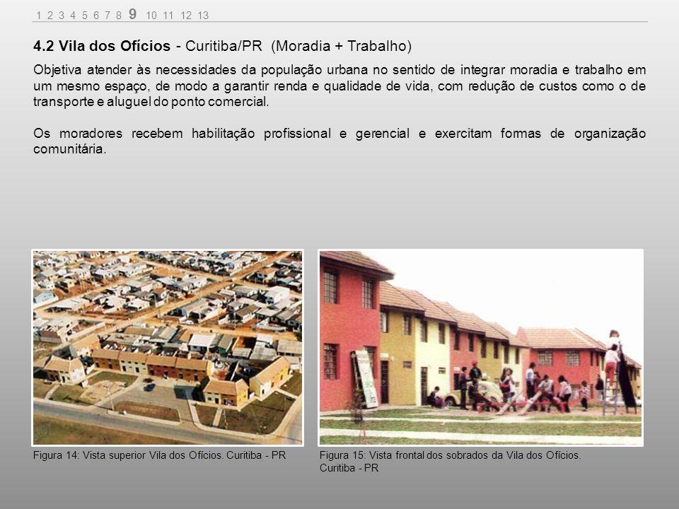4.2 Vila dos Ofícios - Curitiba/PR (Moradia + Trabalho)