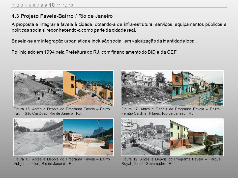 4.3 Projeto Favela-Bairro / Rio de Janeiro