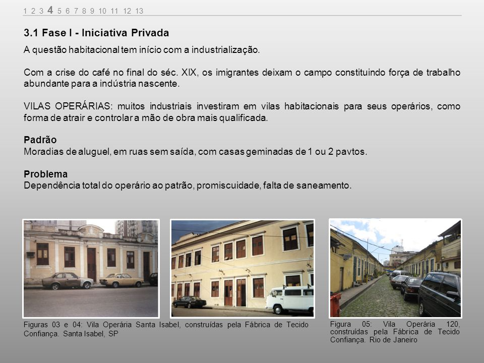 3.1 Fase I - Iniciativa Privada