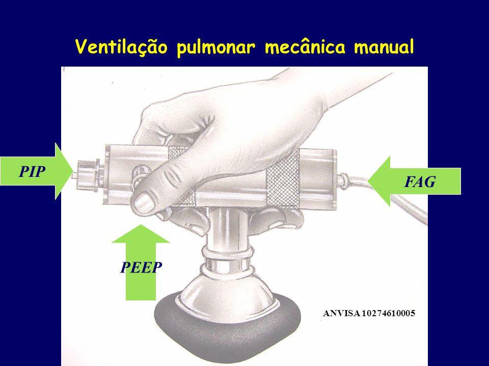 Ventilação pulmonar mecânica manual
